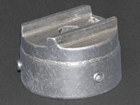 Box Blade Post Caps