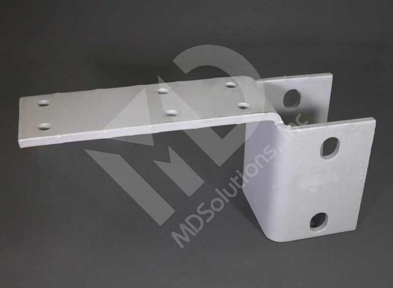 Cantilever Saddle Bracket Square Post Assembly Small