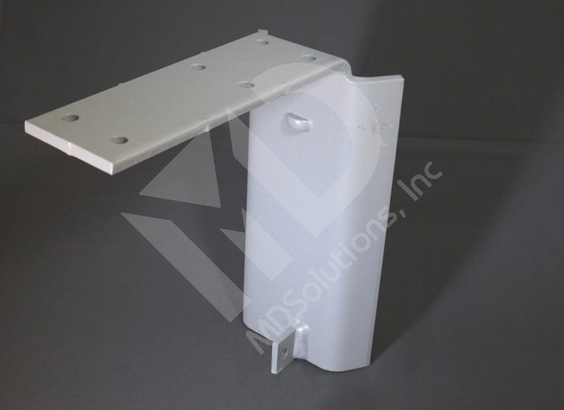 Cantilever Saddle Bracket Round Post Assembly Large