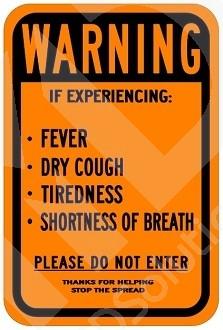 COVID-19 Warning Symptoms