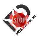 Solar Stop Sign with LED Lights